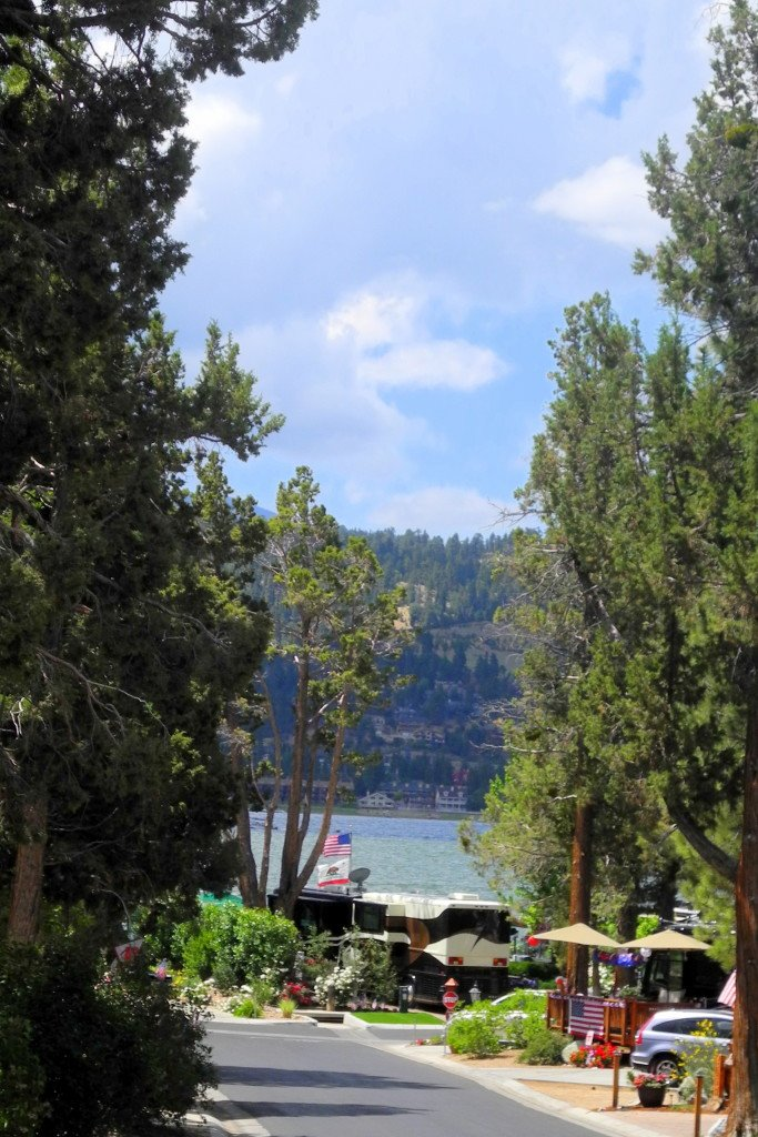 Big Bear Shores RV Resort view