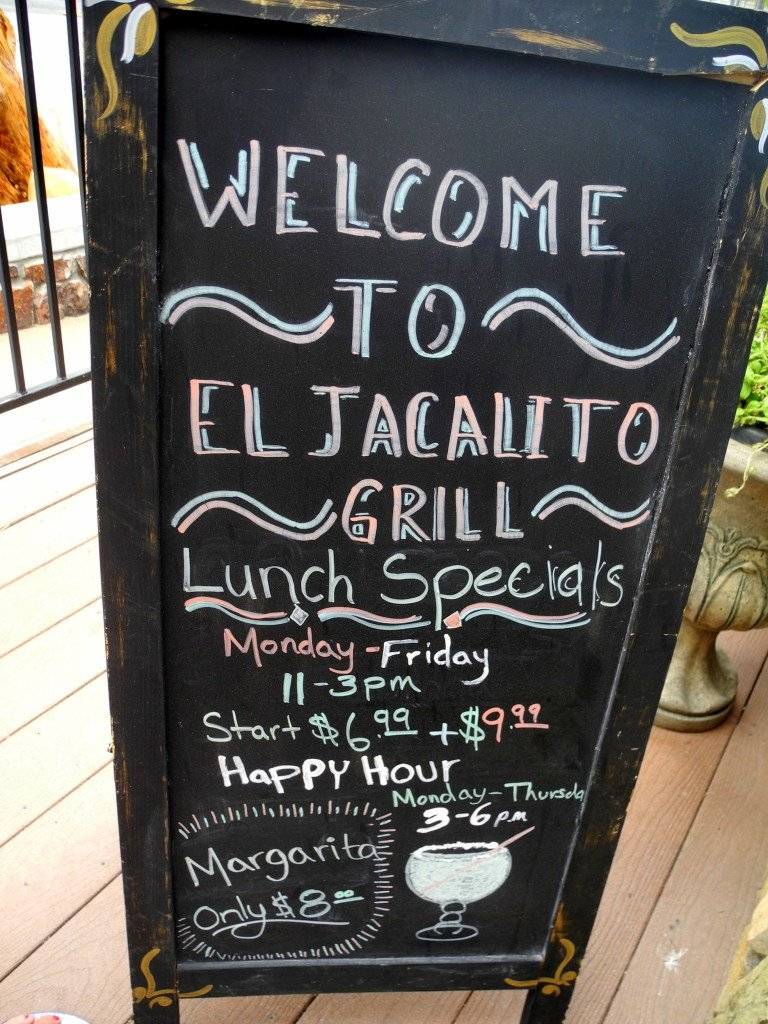 Jacalito Grill Sign Big Bear Lake