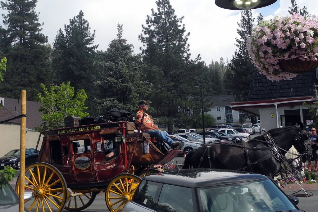 Big Bear horse and carriage ride