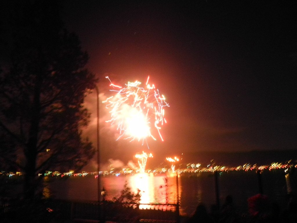 4th of July at Big Bear Lake Fireworks show