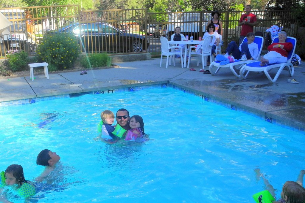 Big Bear Shores RV Resort swimming pool
