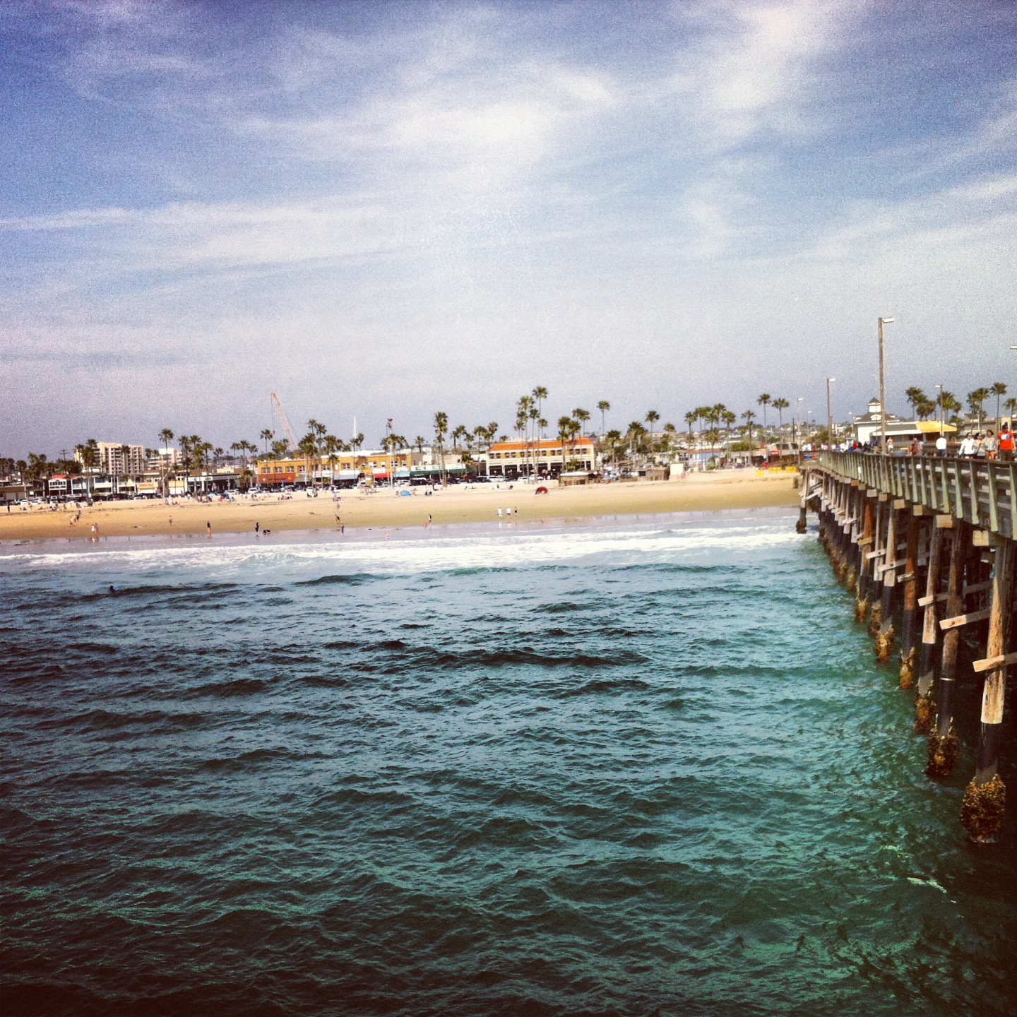 Beautiful Picture Of Newport Beach From The Pier