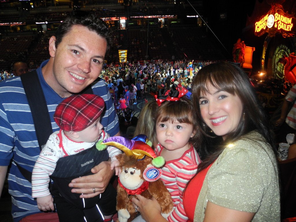 Circus at Honda Center with Kids
