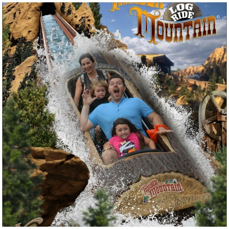 Funny Knotts Log Ride Scared