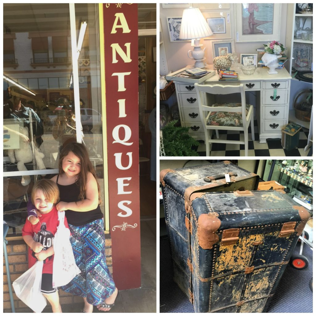 Orange Circle antique stores