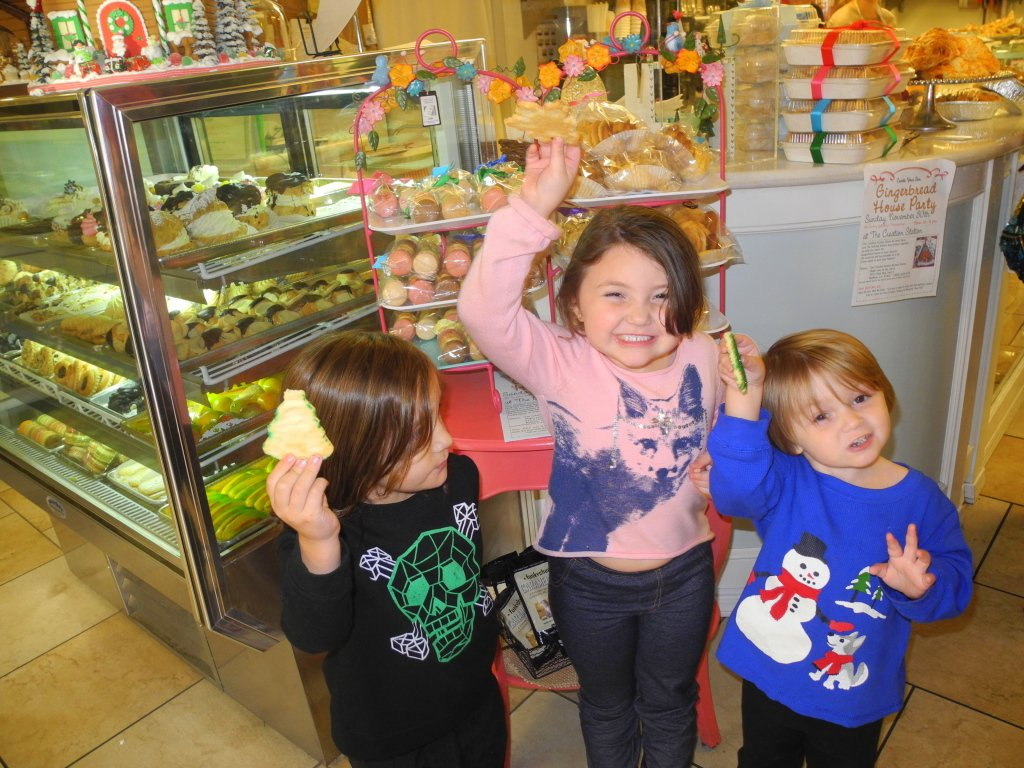 Inside Solvang Bakery with Kids