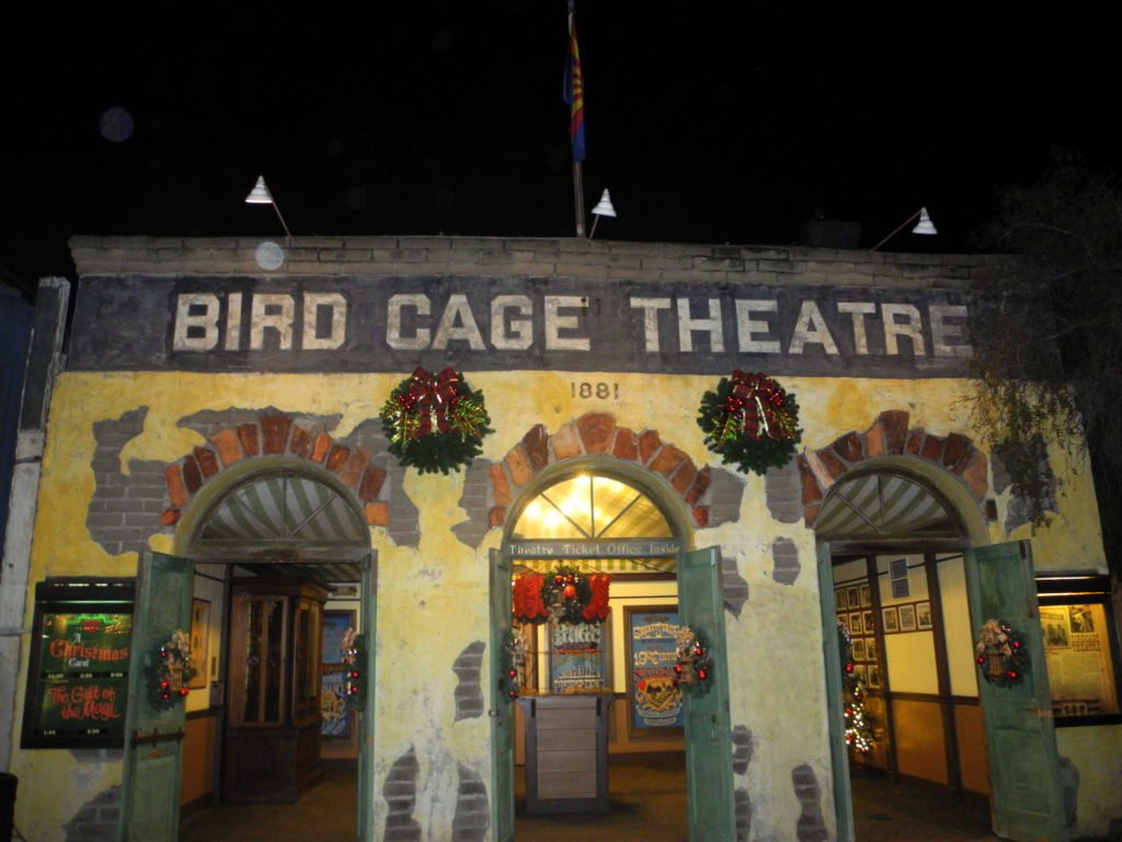 Bird Cage Theatre hold Christmas themed shows during Knott's Merry Farm