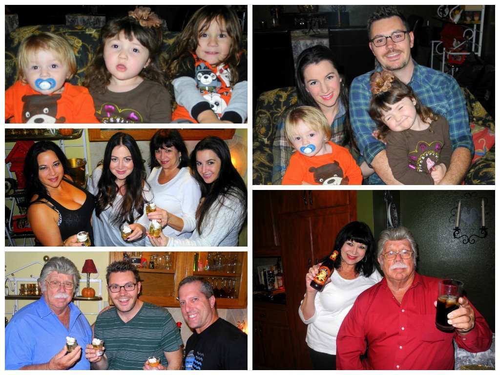Our first family party of the season, Thanksgiving!