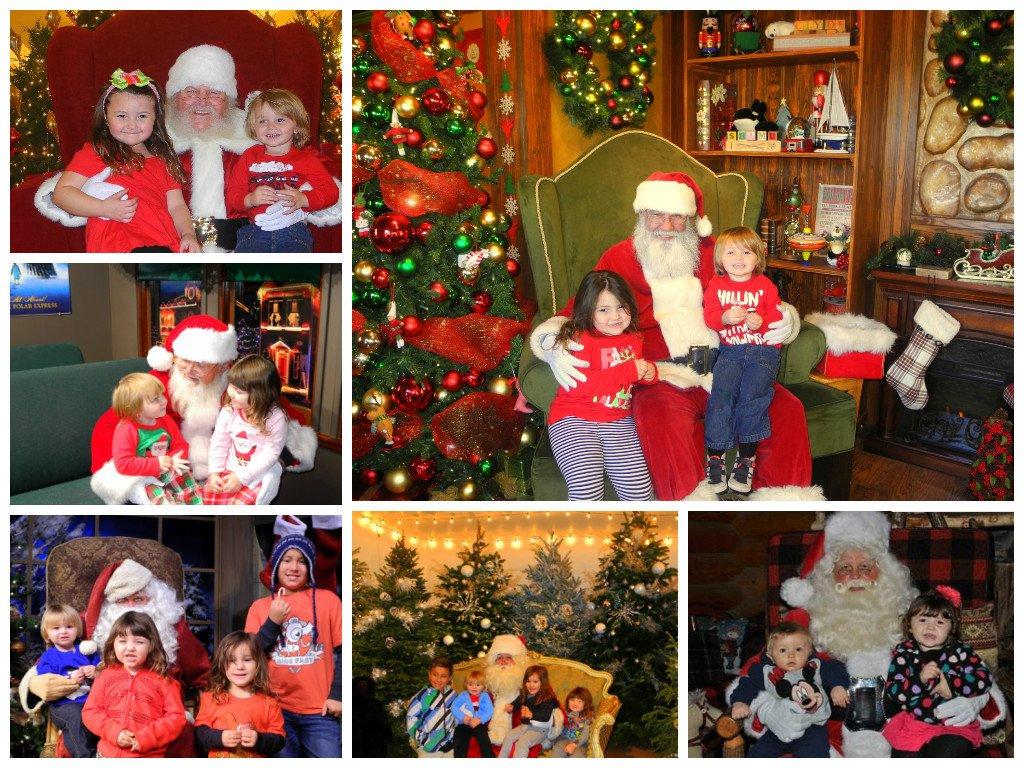 Santa, Santa, everywhere