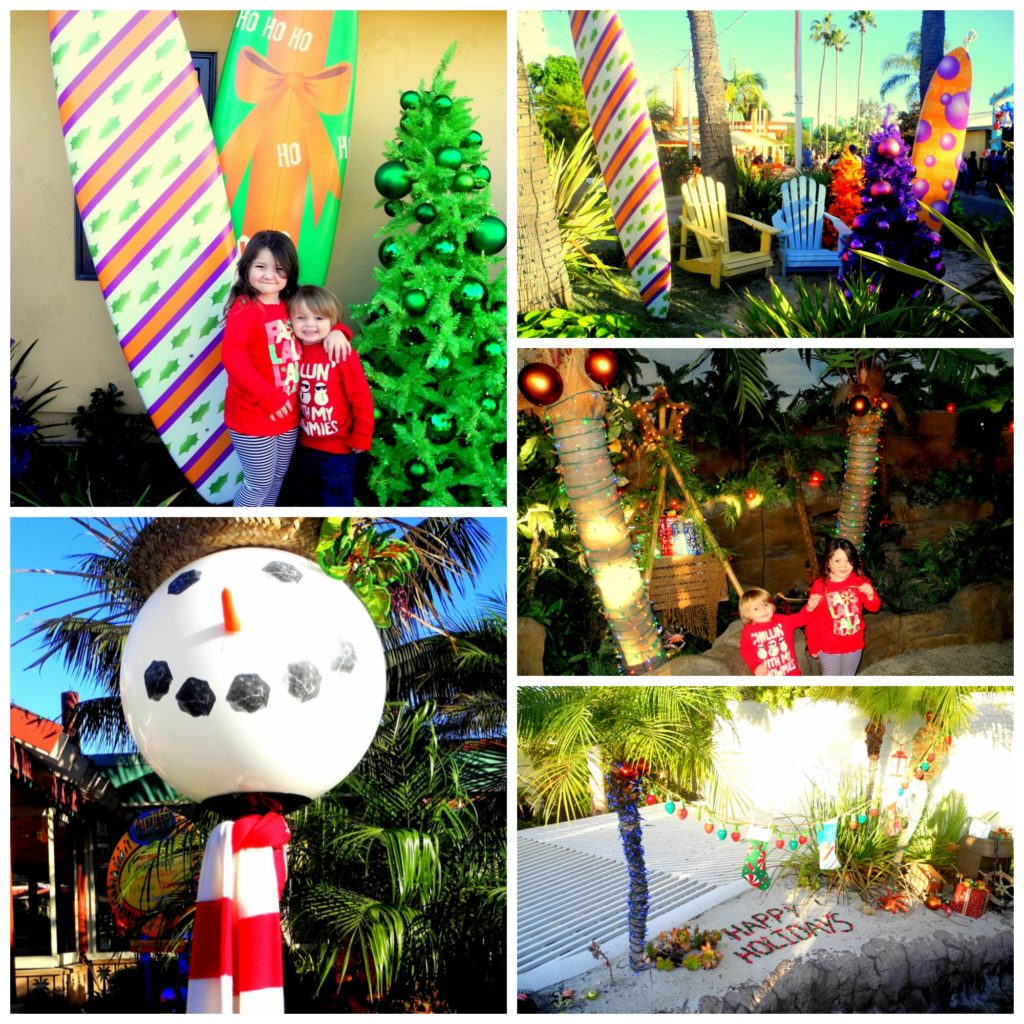 SeaWorld Christmas with kids