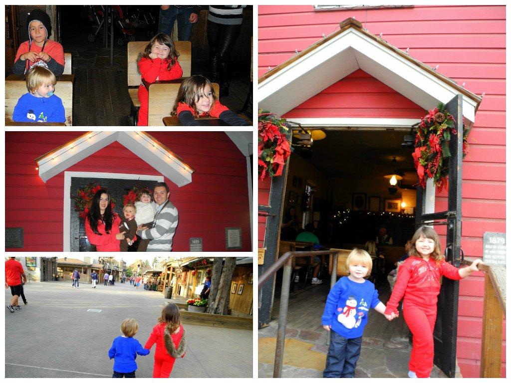 Holiday decor at Knott's Merry Farm