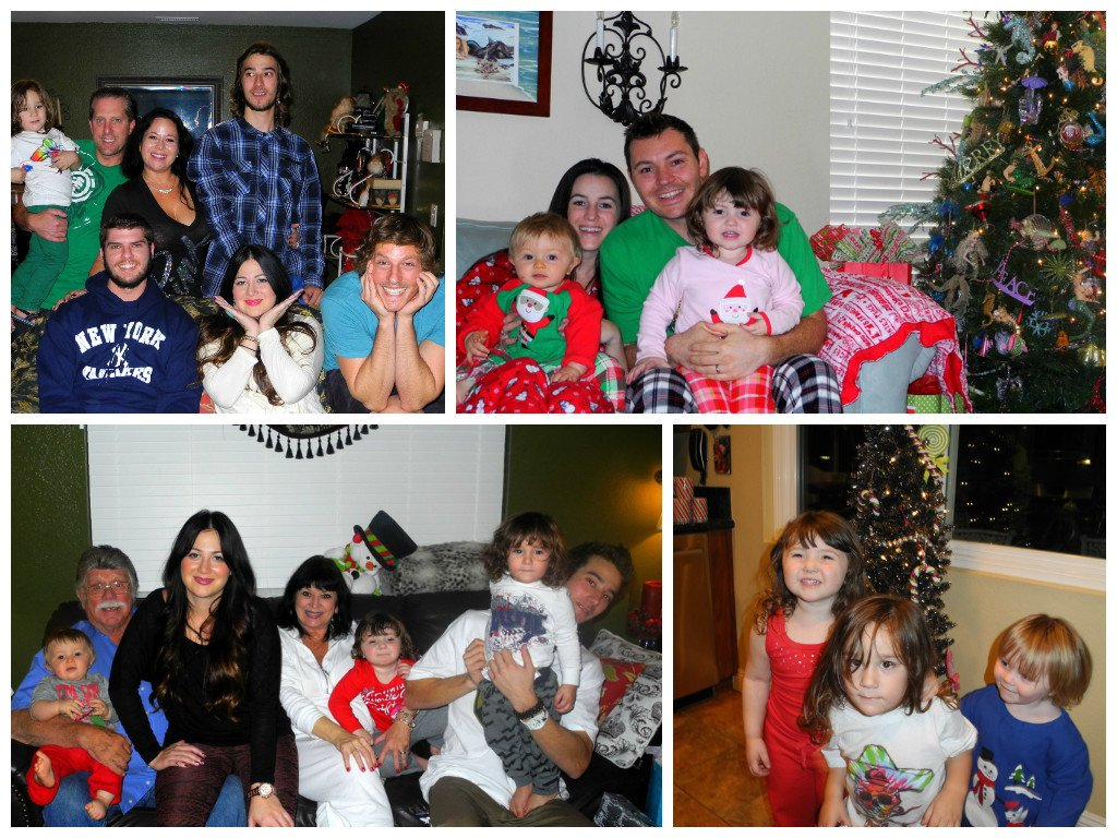 Christmas Day with usual crew