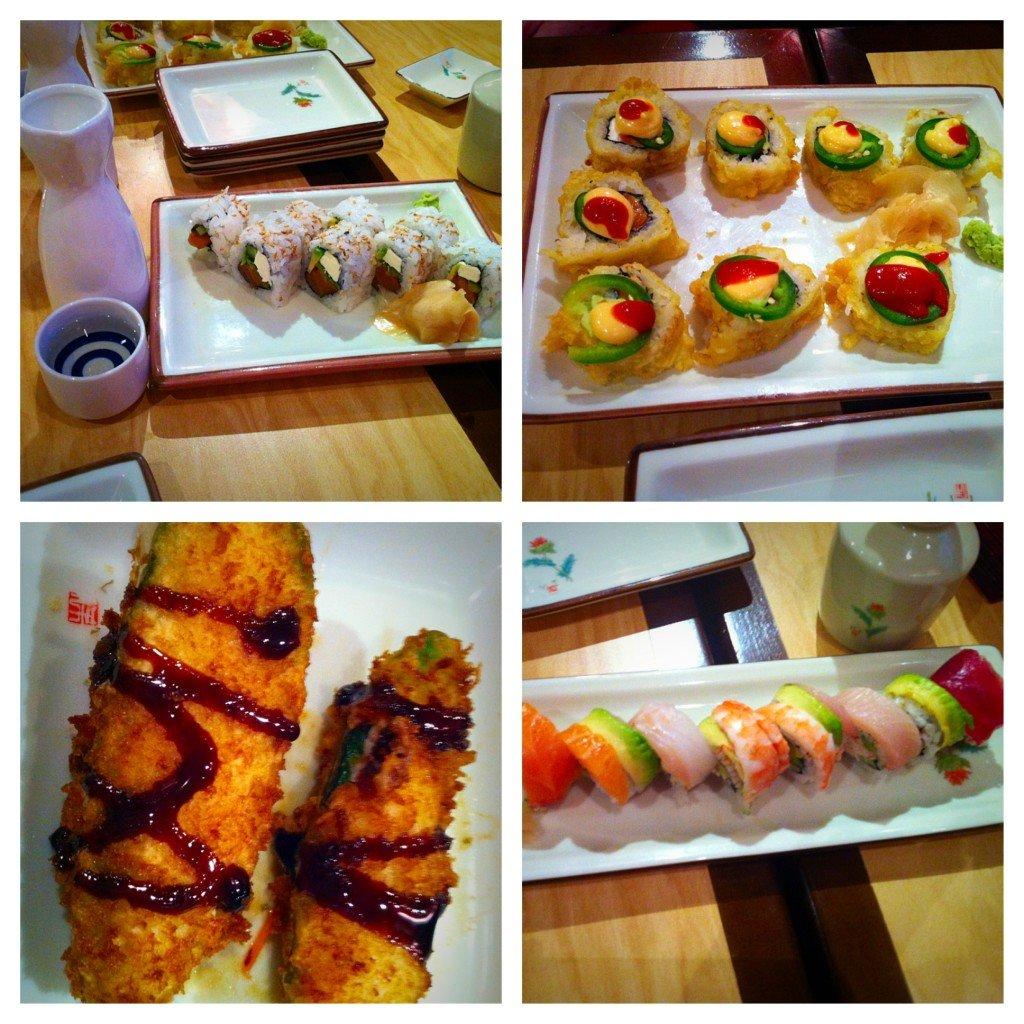 Benihana sushi