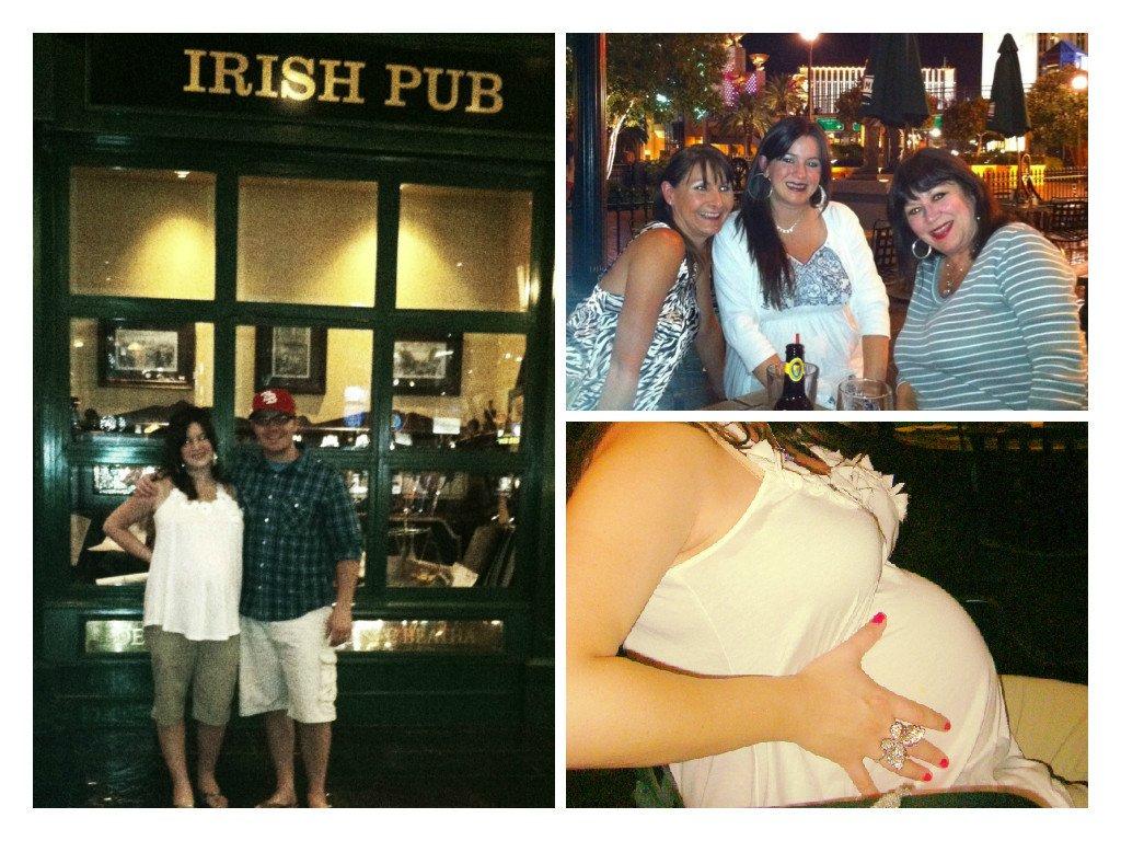 Pregnant Nine Fine Irishmen Vegas