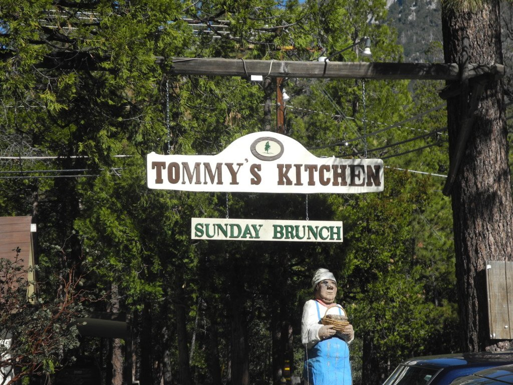 Tommy's Kitchen restaurant in Idyllwild