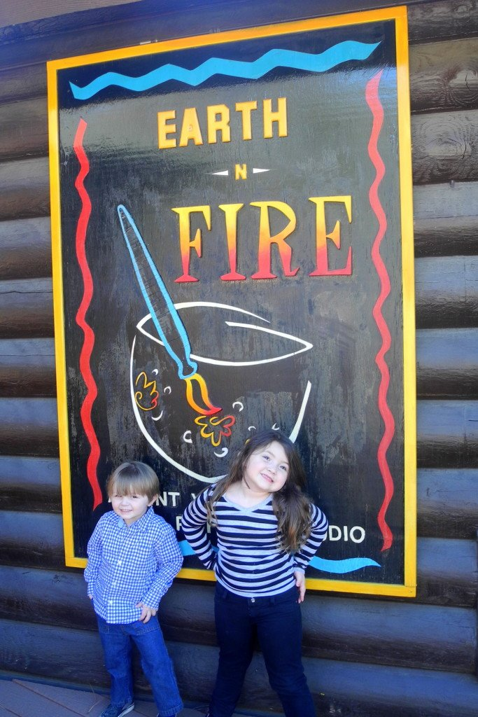 Earth n Fire Idyllwild activity with kids