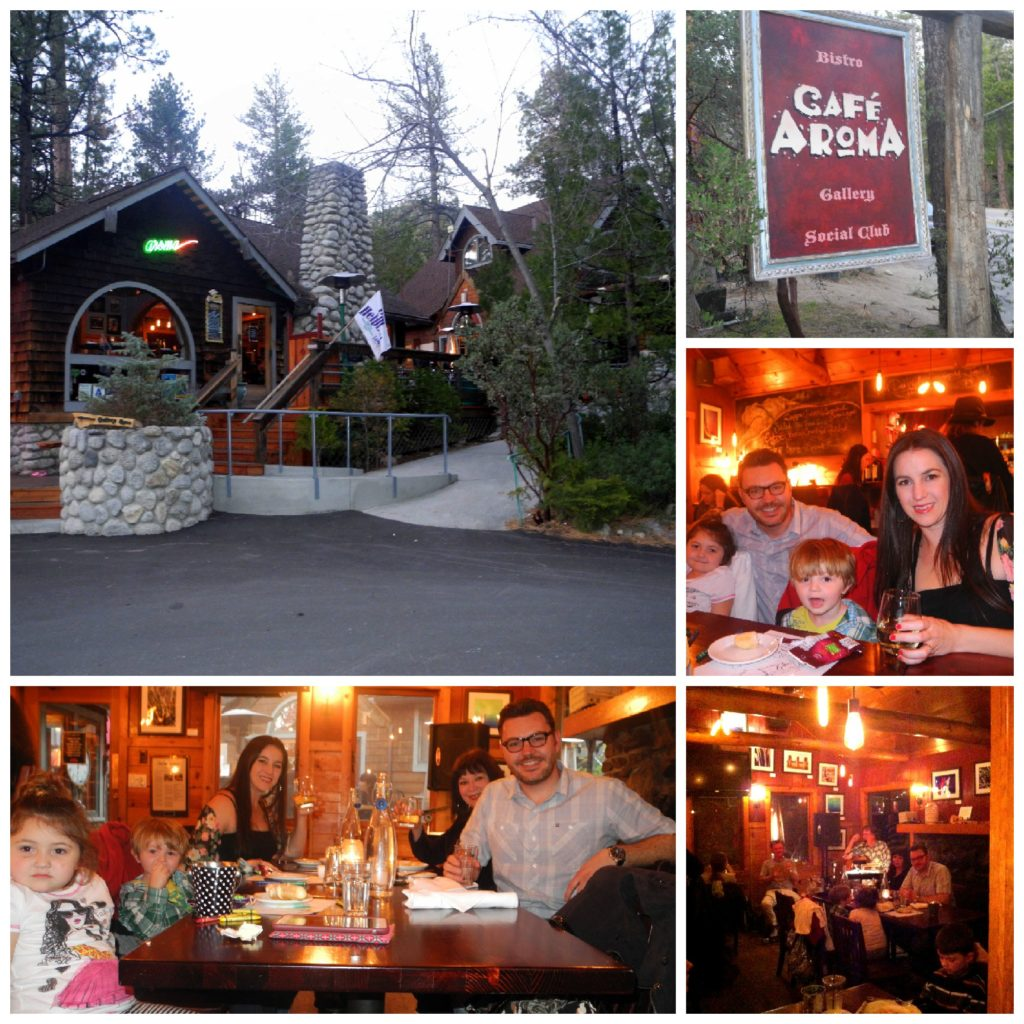 Cafe Aroma kid-friendly idyllwild restaurant