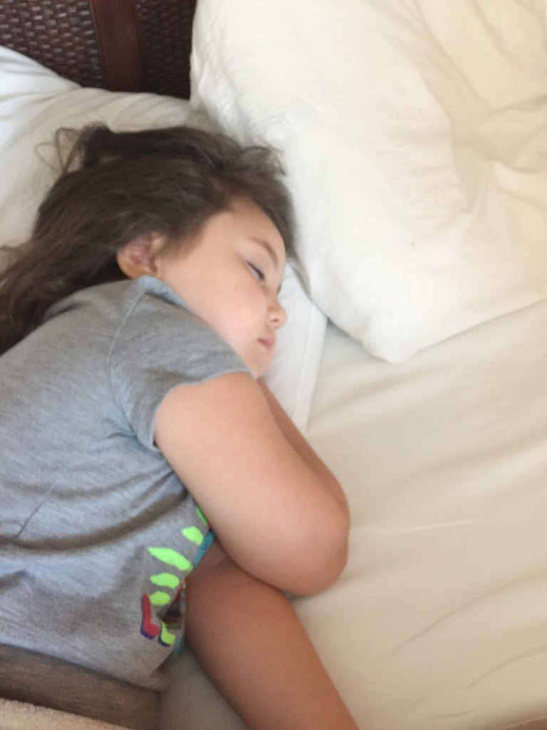 Sleeping in at Tradewinds Resorts
