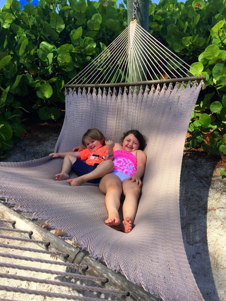 Hammocks at Guy Harvey Outpost