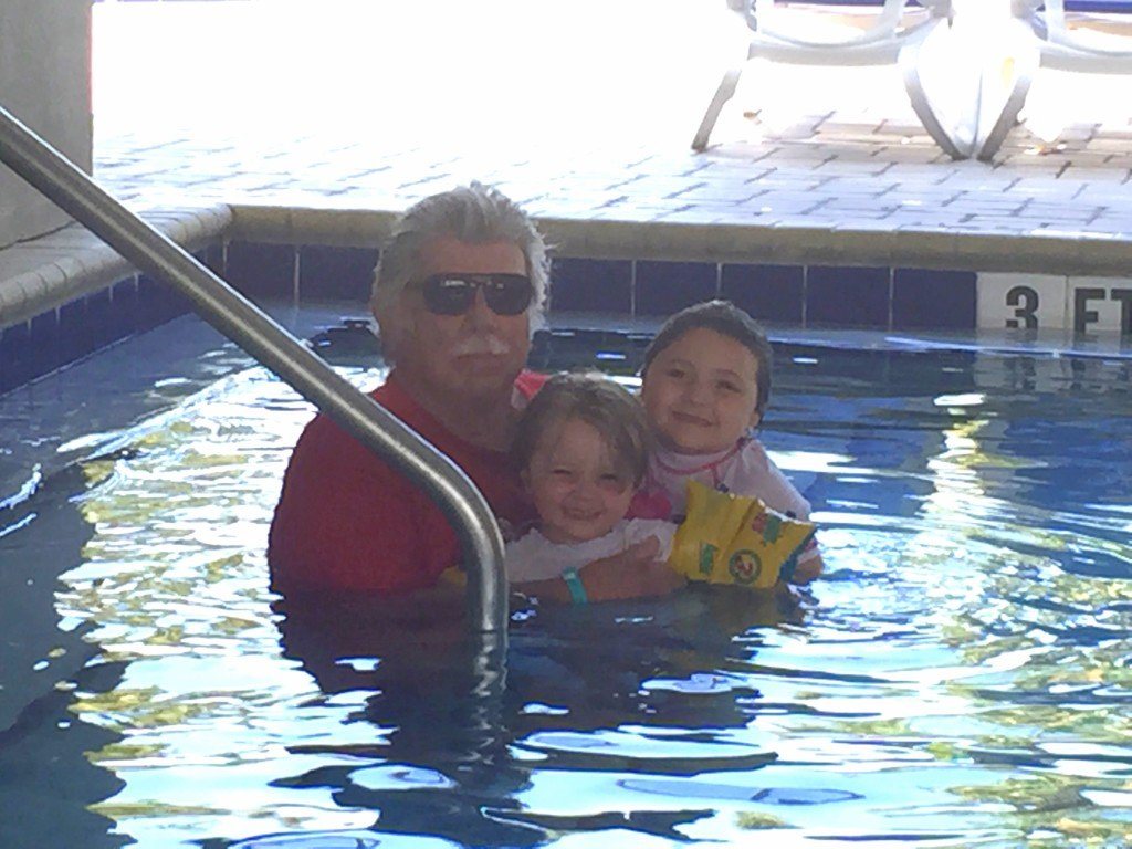 Shady pool at Tradewinds Resorts