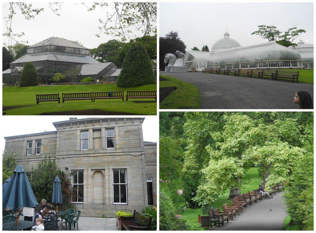 Glasgow Botanical Garden with kids