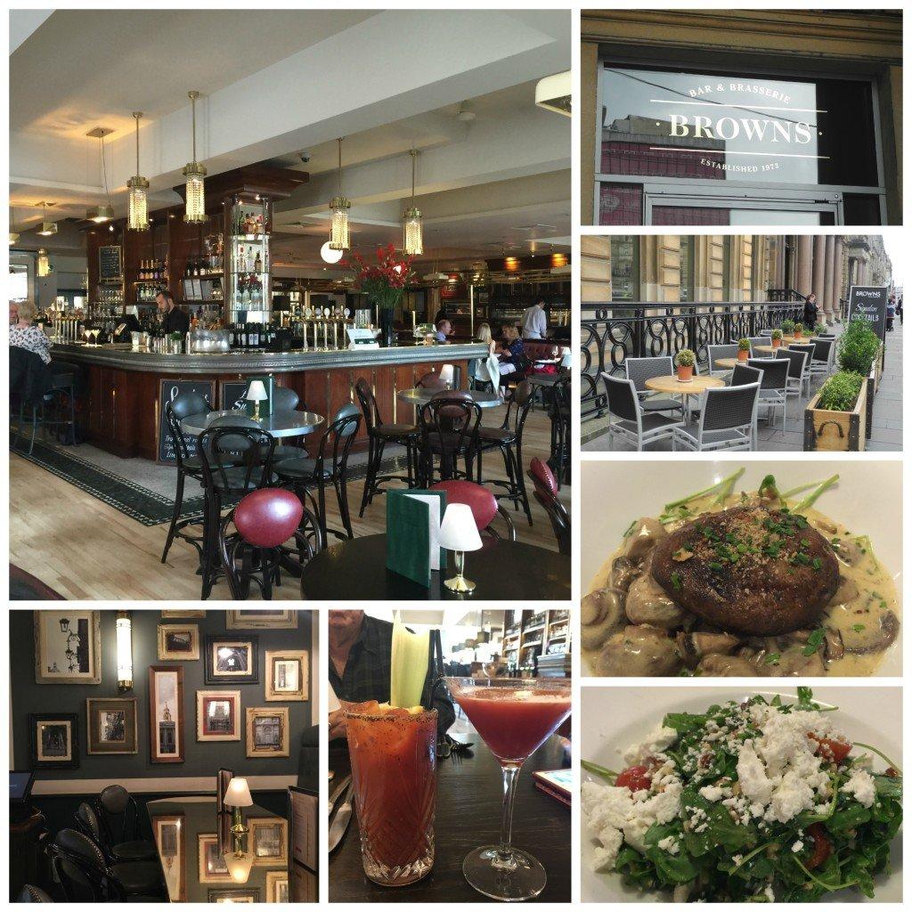 Browns Restaurant Glasgow