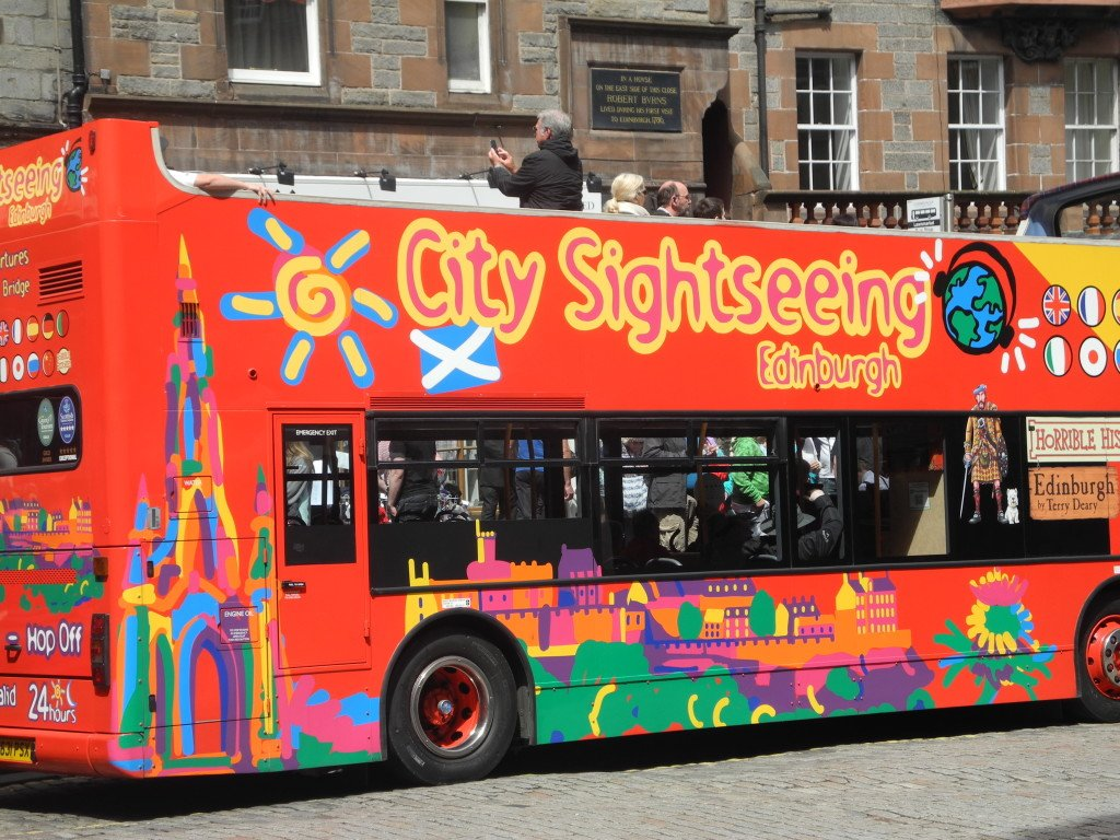 City Sightseeing bus Scotland