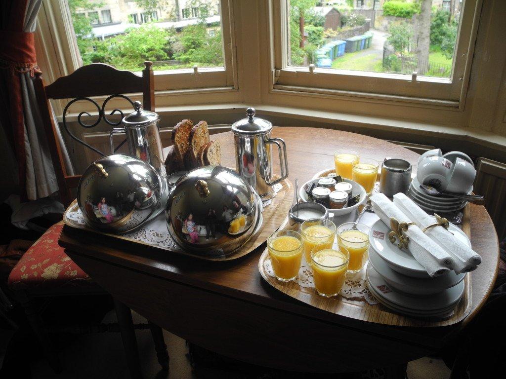 Breakfast at Kirklee Hotel