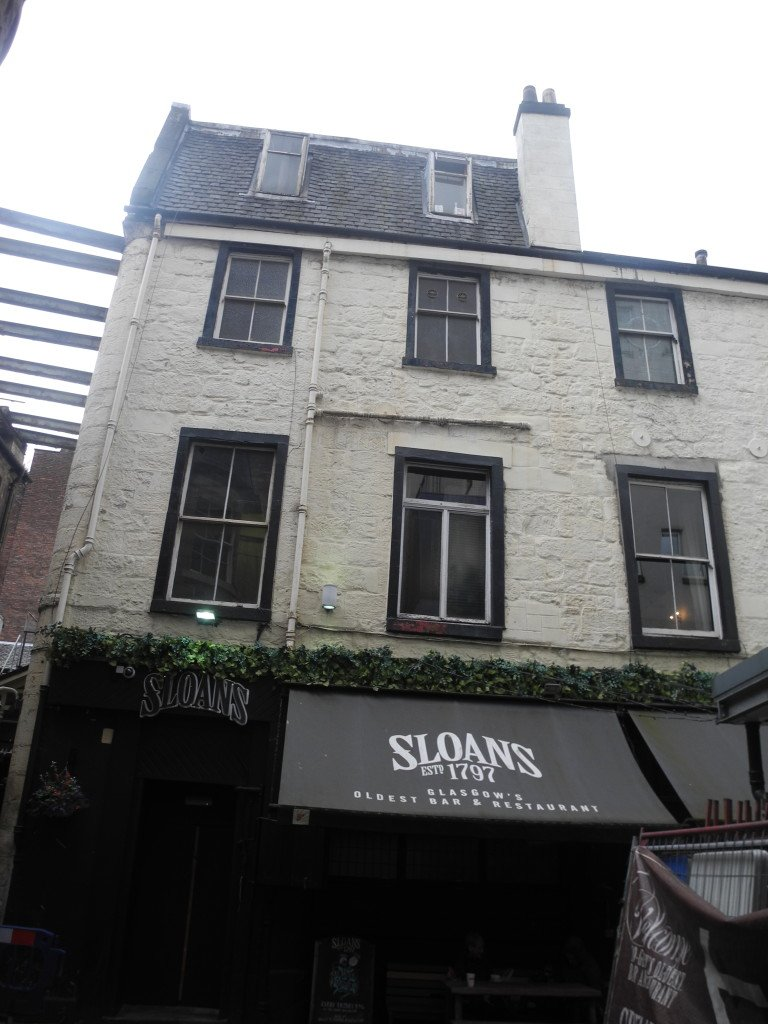 Sloans Pub in Glasgow