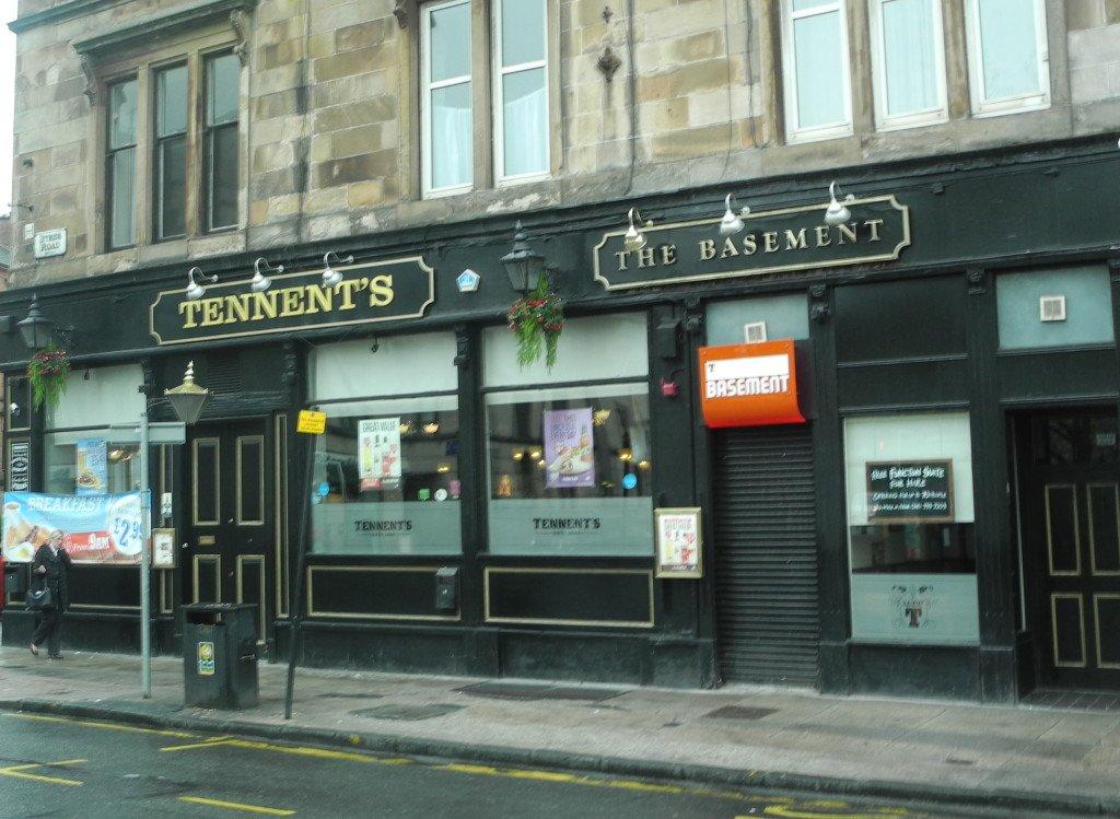 Tennent's Pub Glasgow