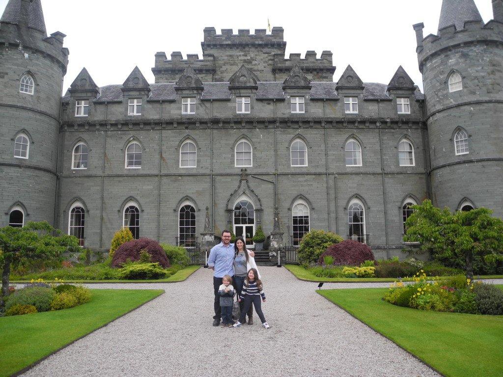 family friendly inveraray castle scotland tours
