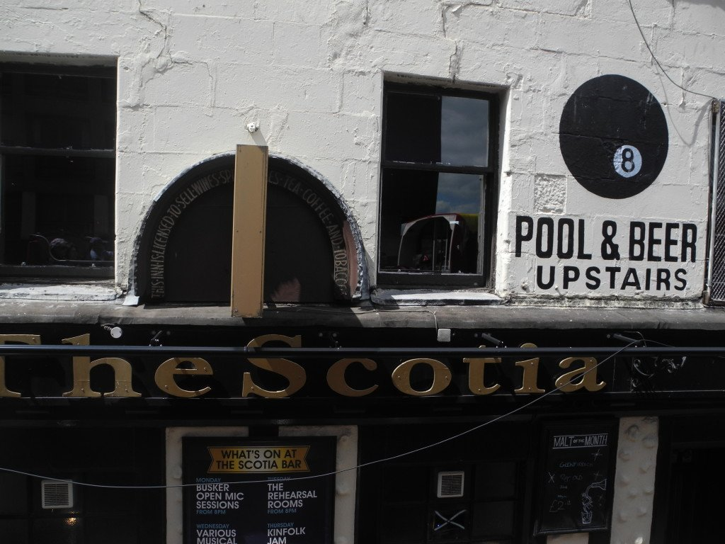 The Scotia Bar Glasgow