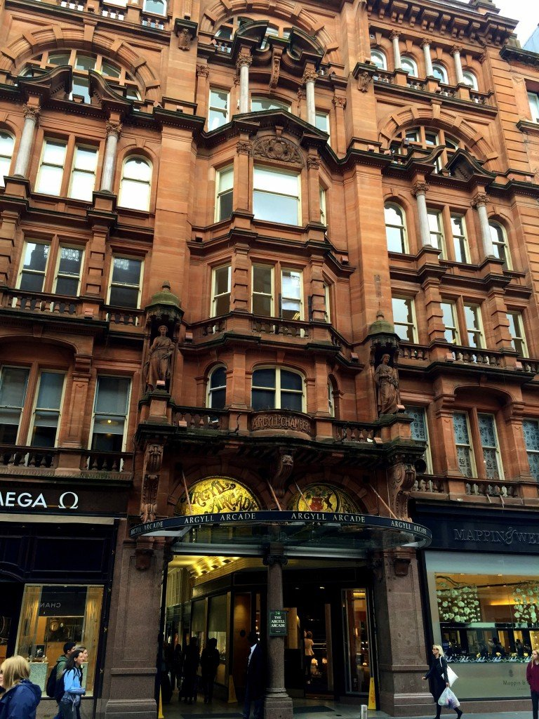 Argyll Arcade Glasgow