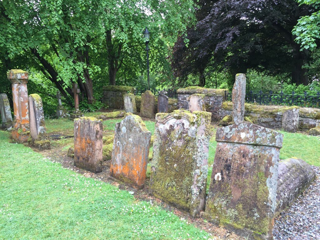 Viking Graves in Luss Scotland