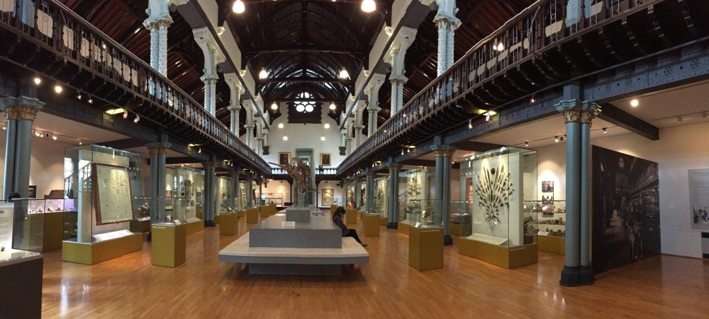 Hunterian Museum is a free museum to visit with kids in glasgow scotland