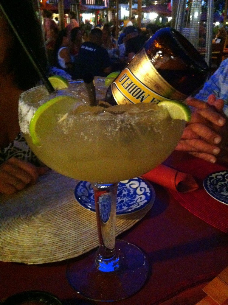 Get crazy and add a beer to your Margarita and make an El Jefe