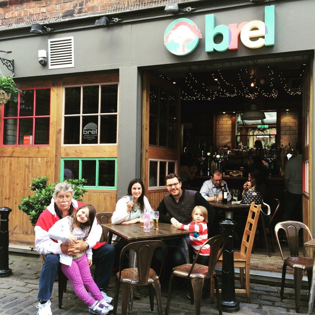 Brel Restaurant Ashton Lane Glasgow