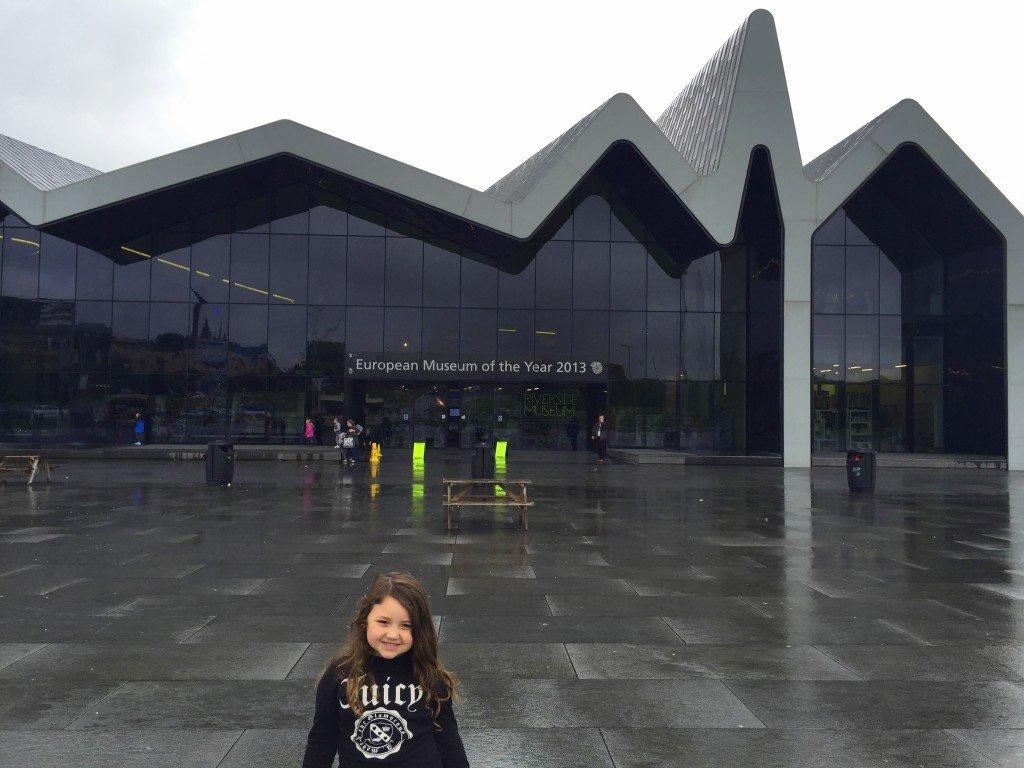 kid-friendly free riverside museum in glasgow scotland