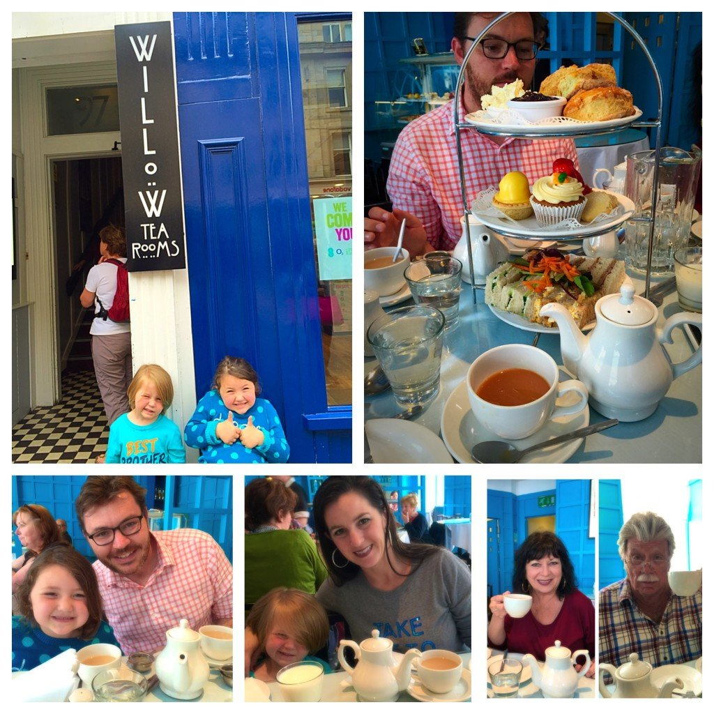 Afternoon Tea at Willow Tea Room Glasgow