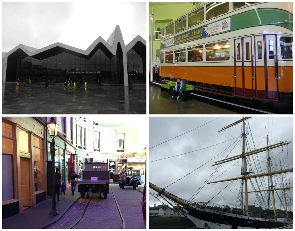 Riverside Museum Glasgow with Kids