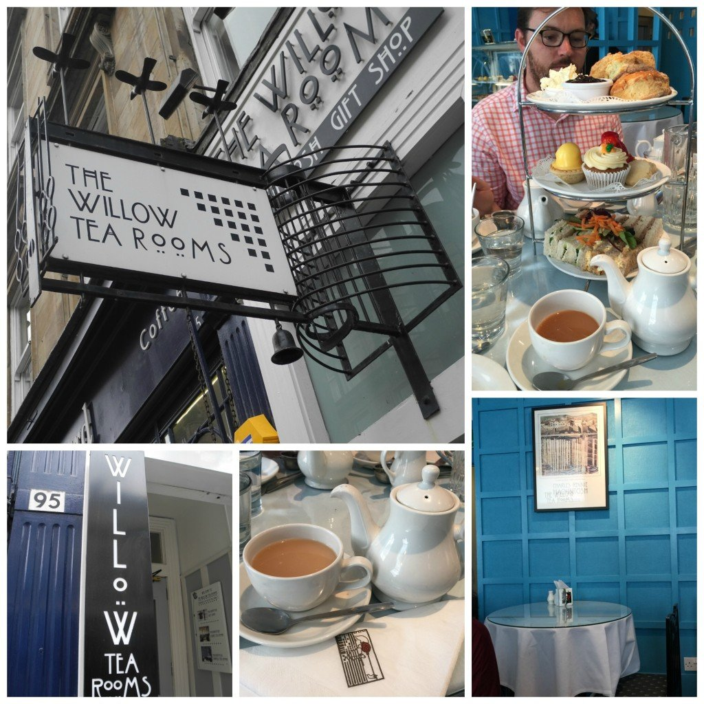 willow tea rooms glasgow scotland