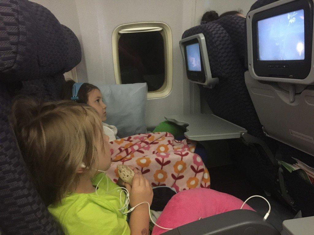 Free games and movies on transatlantic flights