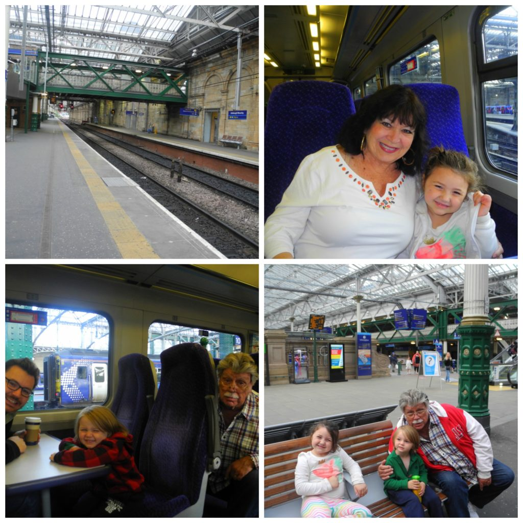 Scotrail with kids