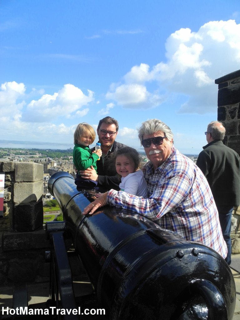Edinburgh Castle with Kids