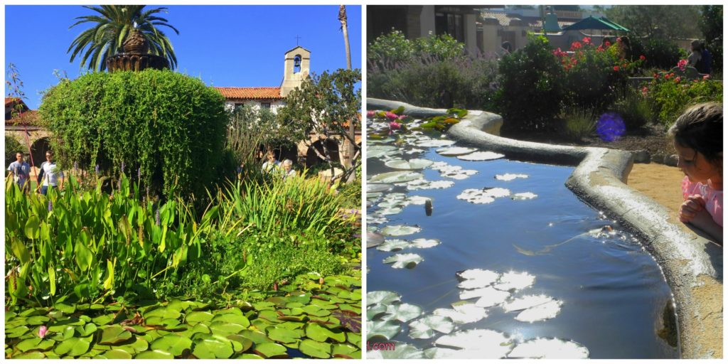 Mission San Juan Capistrano Fountains