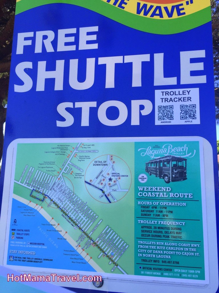 Laguna Beach shuttle
