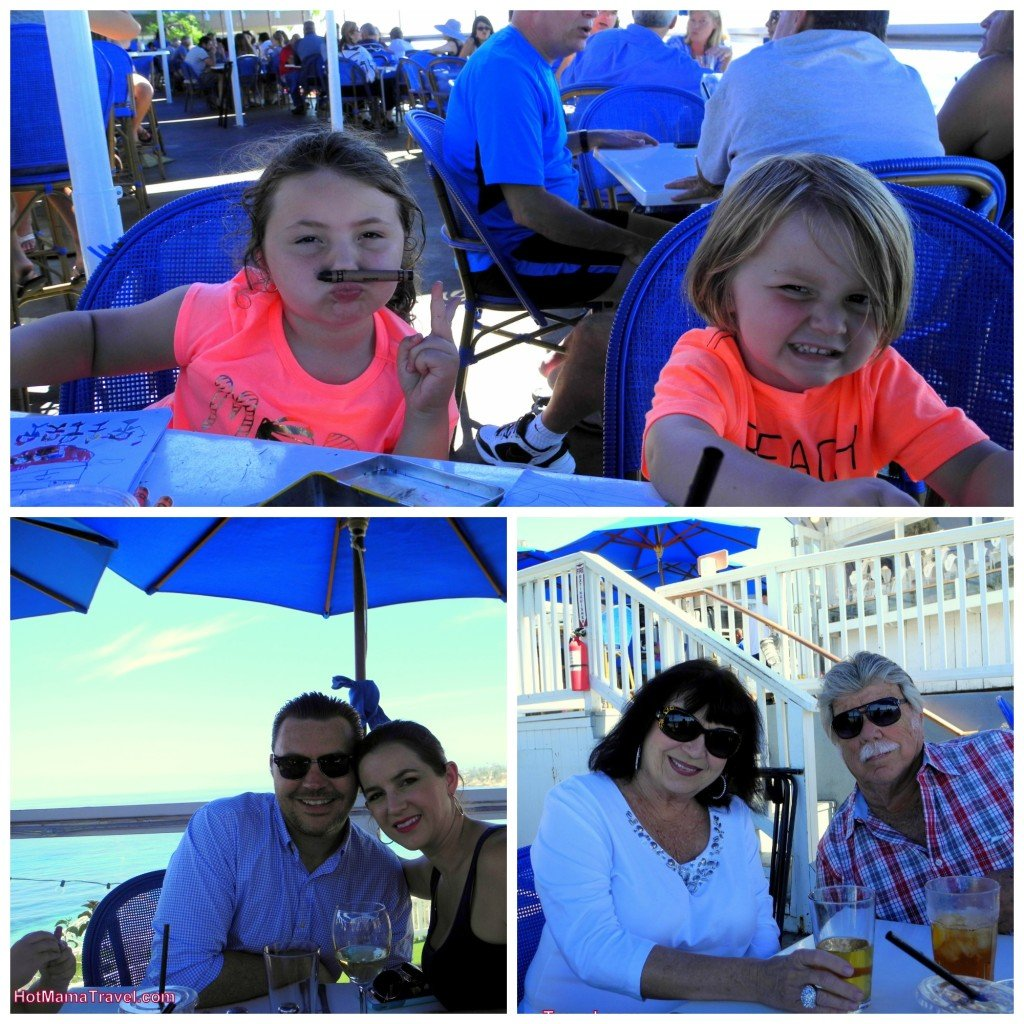 Laguna Beach with kids Lunch The Cliff
