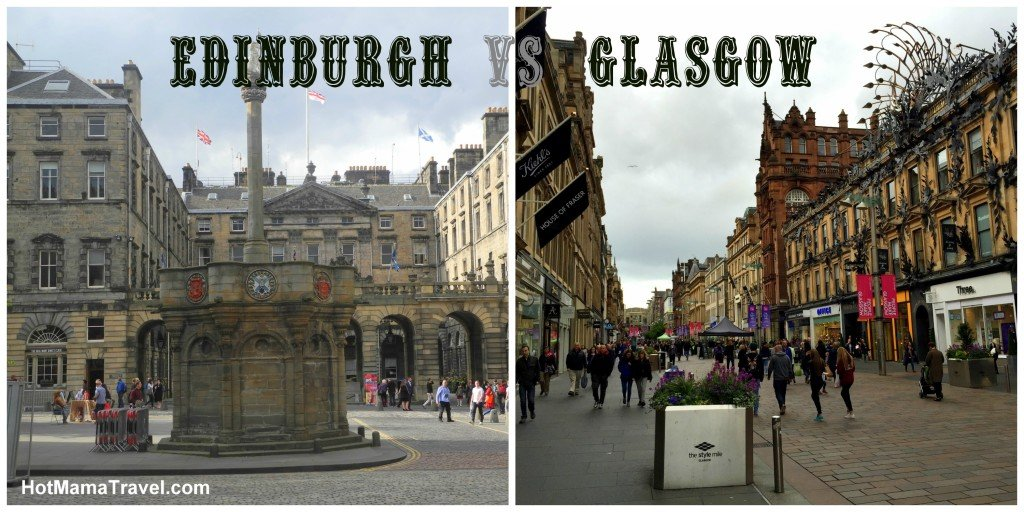 Edinburgh vs Glasgow