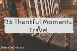 Thankful for Travel