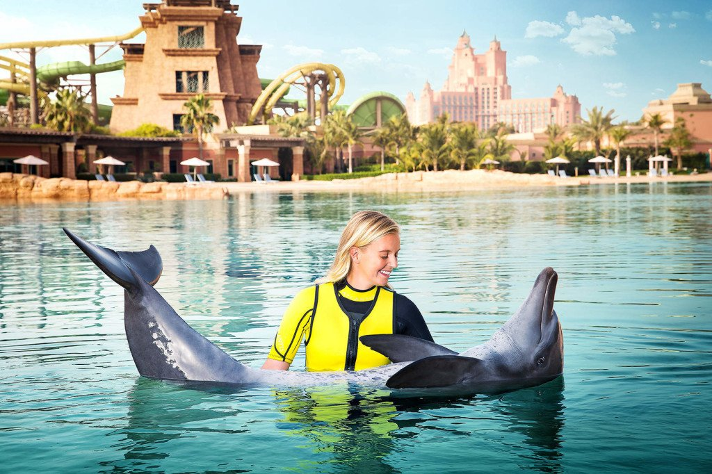 Dubai Dolphin Bay Fun